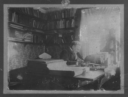 Brev från syster Charlotta  de allra hjertligaste lyckönskningar på födelsedagen den 24 mars 1911-komprimerad bild