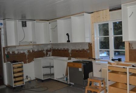 Köket växer fram